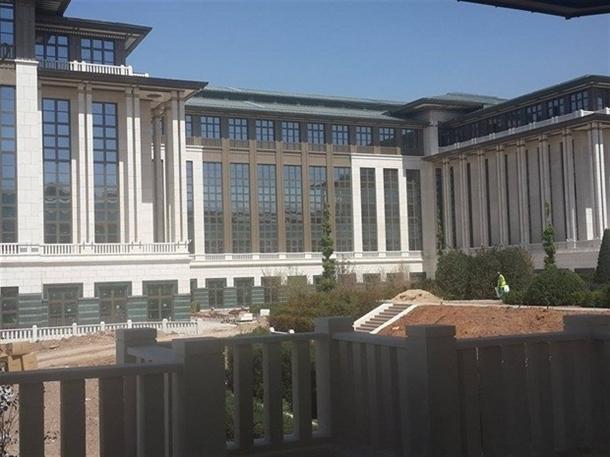 İskele kaldırıldı 'Başkanlık Sarayı' ortaya çıktı 19