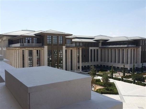 İskele kaldırıldı 'Başkanlık Sarayı' ortaya çıktı 2