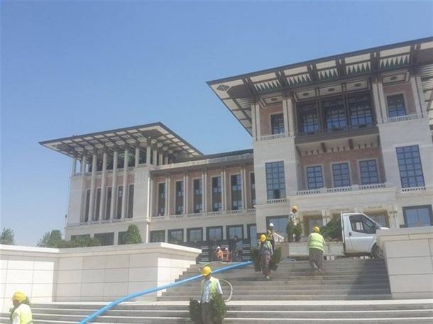 İskele kaldırıldı 'Başkanlık Sarayı' ortaya çıktı 25