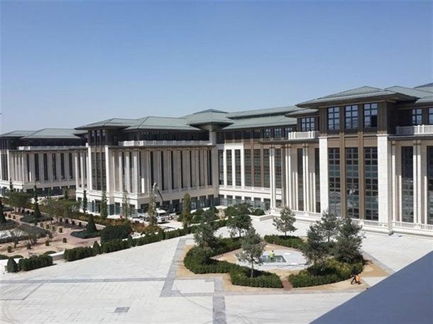 İskele kaldırıldı 'Başkanlık Sarayı' ortaya çıktı 28
