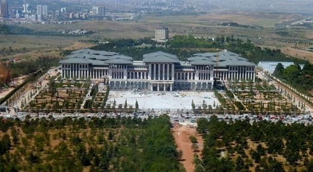 İskele kaldırıldı 'Başkanlık Sarayı' ortaya çıktı 32