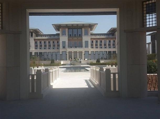 İskele kaldırıldı 'Başkanlık Sarayı' ortaya çıktı 5