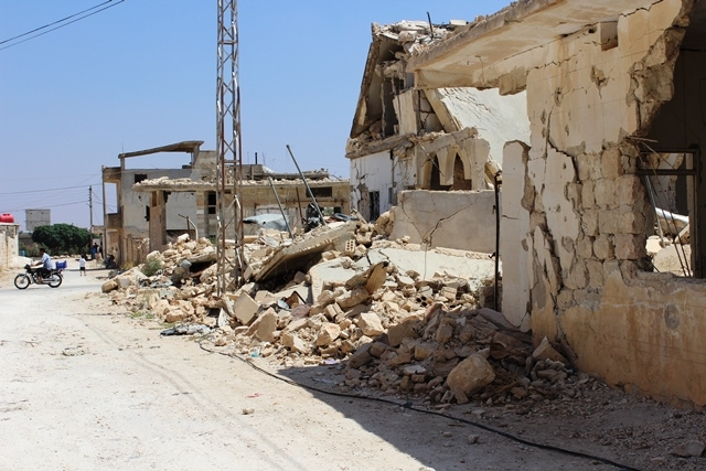 Yeni Haber çatışma bölgesinde 135