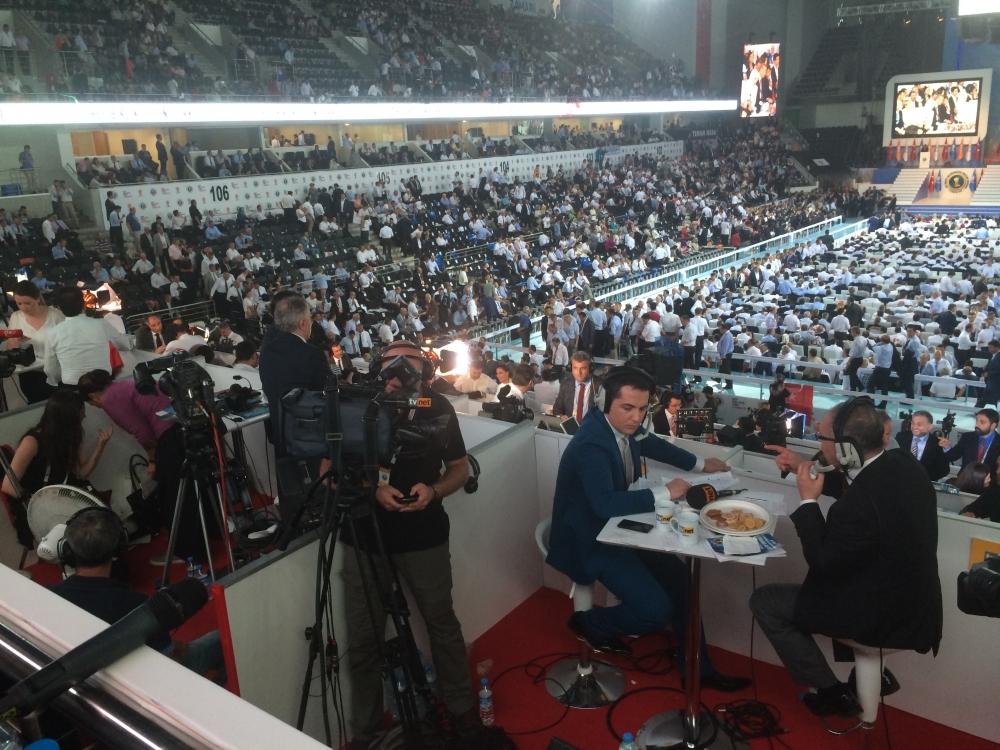 Yeni Haber AK Parti Kongresi'ndeydi 1