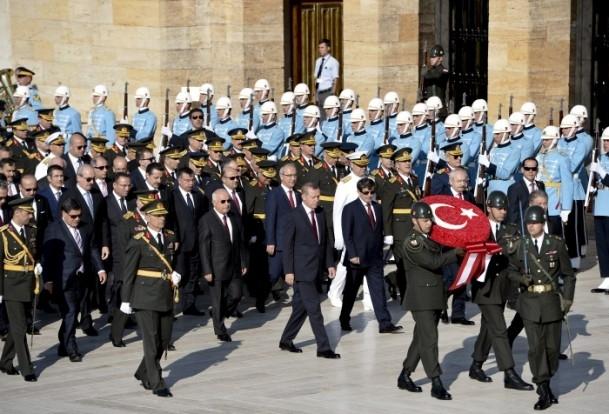 30 Ağustos'ta ilk tören Anıtkabir'de düzenlendi 1