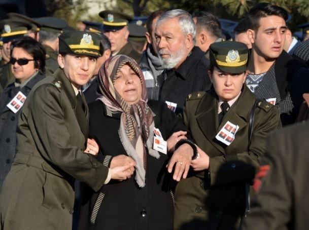 Şehit askerler memleketlerine uğurlandı 13
