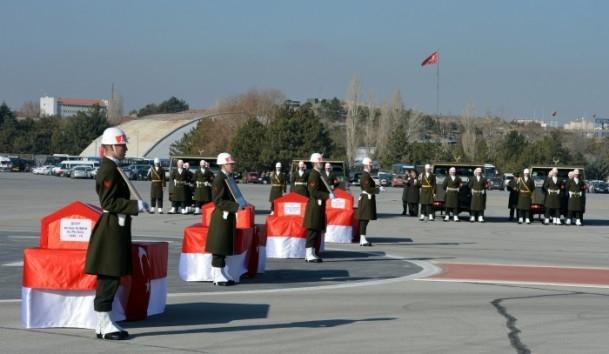 Şehit askerler memleketlerine uğurlandı 15