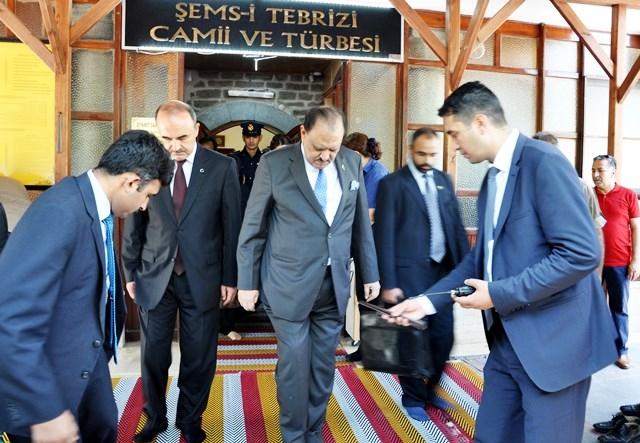 Pakistan Cumhurbaşkanı Hüseyin, Konya'da 3