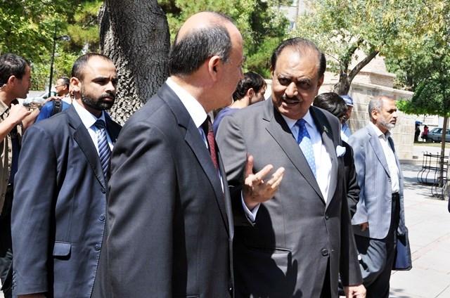 Pakistan Cumhurbaşkanı Hüseyin, Konya'da 4
