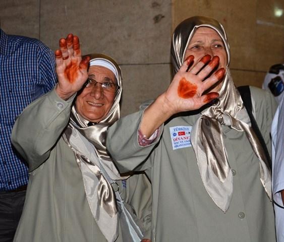Konya'da ilk hacı kafilesi dualarla uğurlandı 7