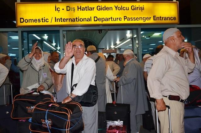 Konya'da ilk hacı kafilesi dualarla uğurlandı 8