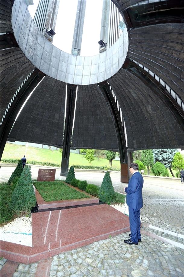 Davutoğlu Erbakan'ı ziyaret etti 1