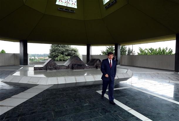 Davutoğlu Erbakan'ı ziyaret etti 12
