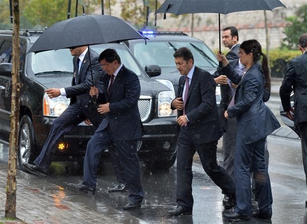 Davutoğlu Erbakan'ı ziyaret etti 6