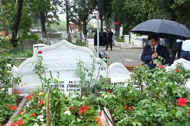 Davutoğlu Erbakan'ı ziyaret etti 8