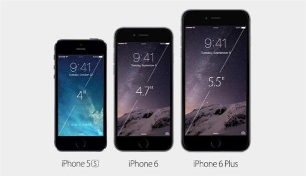 İşte yeni iPhone'lar 1