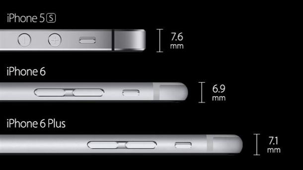 İşte yeni iPhone'lar 6