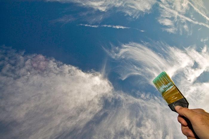 Perspektif Oyunlarına Bulutları da Alet Eden Kareler 13