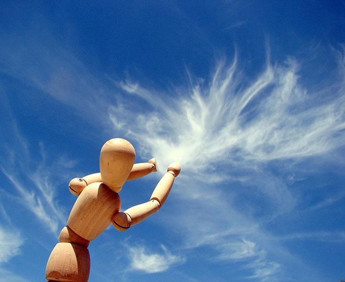 Perspektif Oyunlarına Bulutları da Alet Eden Kareler 15