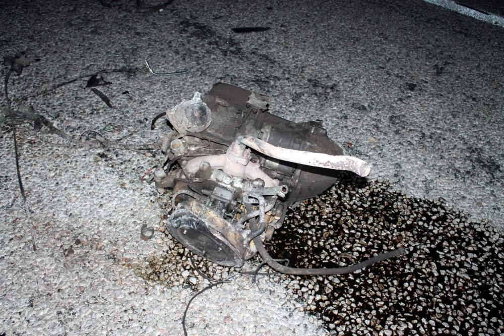 Konya'da feci kaza... 6