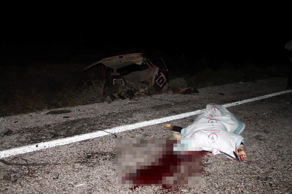 Konya'da feci kaza... 7