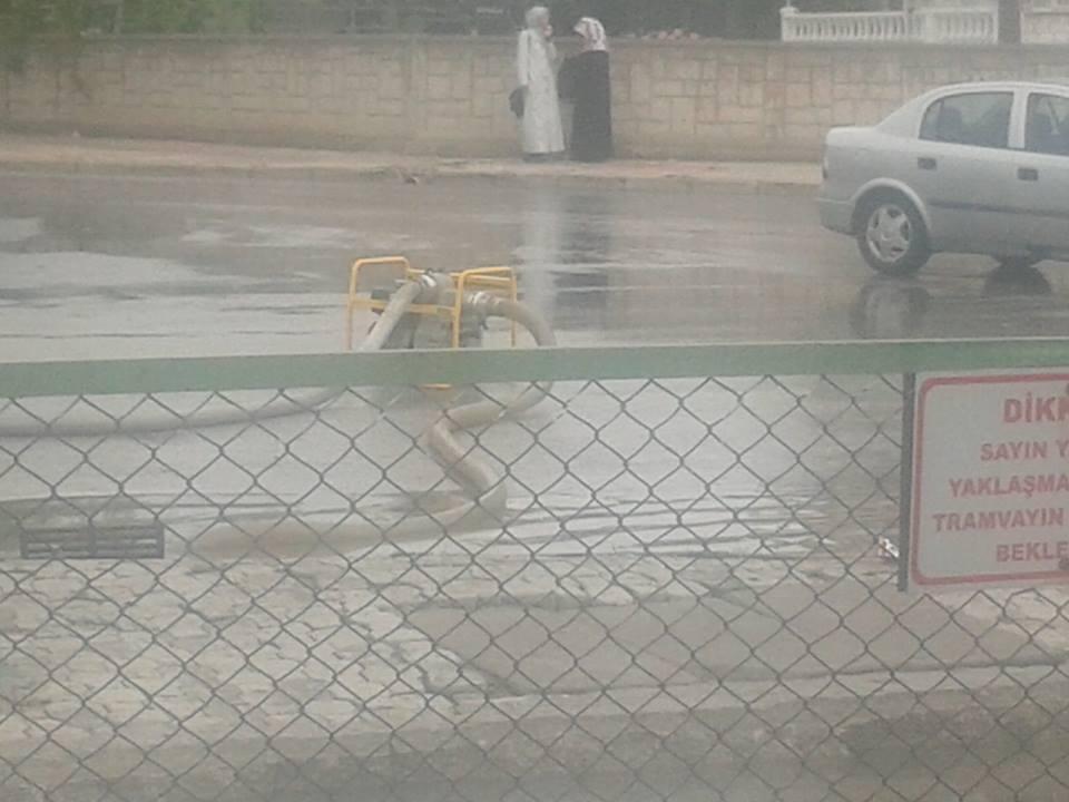 Konya'da yağış tramvay ulaşımını olumsuz etkiledi 6