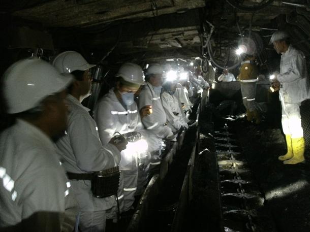 İşte 301 madenciye mezar olan maden 1
