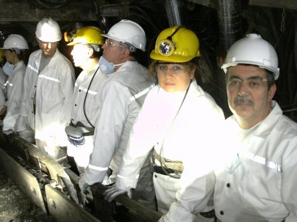 İşte 301 madenciye mezar olan maden 4