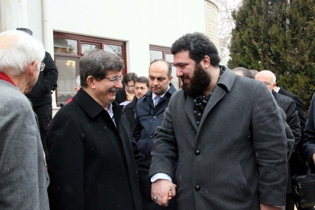 Davutoğlu, Osmanoğlu ailesiyle buluştu 4