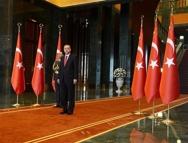 Erdoğan Beştepe'de tebrikleri kabul etti 1