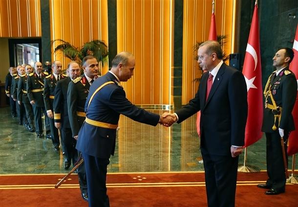 Erdoğan Beştepe'de tebrikleri kabul etti 12
