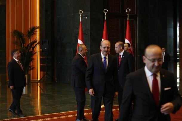 Erdoğan Beştepe'de tebrikleri kabul etti 13