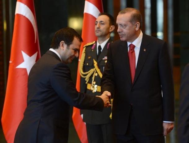 Erdoğan Beştepe'de tebrikleri kabul etti 14