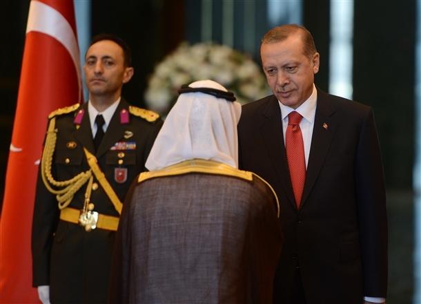 Erdoğan Beştepe'de tebrikleri kabul etti 18