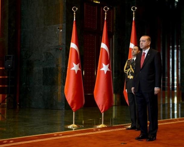 Erdoğan Beştepe'de tebrikleri kabul etti 2