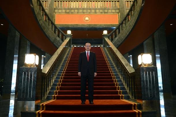 Erdoğan Beştepe'de tebrikleri kabul etti 3