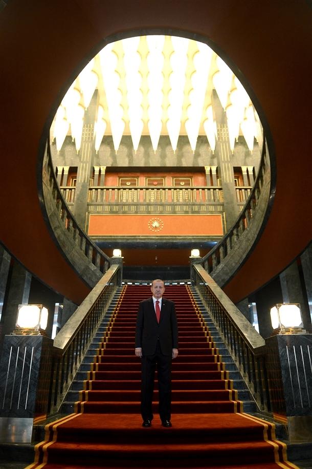 Erdoğan Beştepe'de tebrikleri kabul etti 4