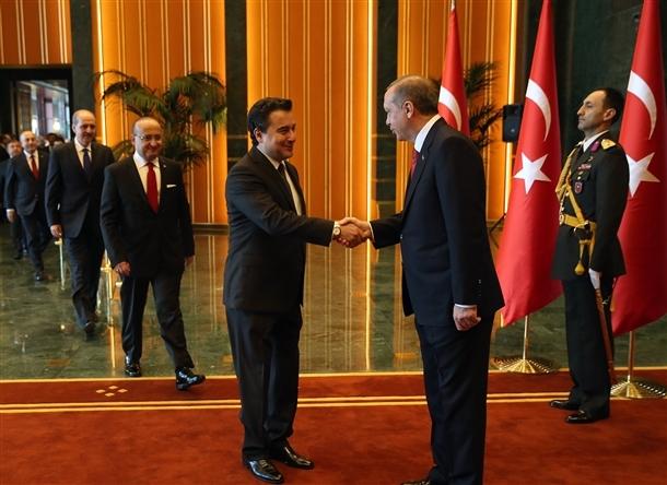 Erdoğan Beştepe'de tebrikleri kabul etti 6