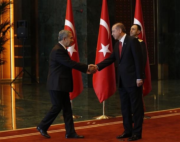 Erdoğan Beştepe'de tebrikleri kabul etti 7