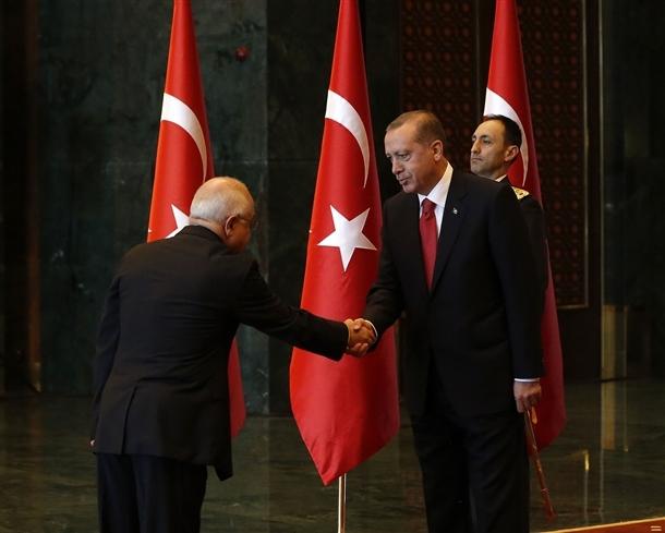 Erdoğan Beştepe'de tebrikleri kabul etti 8