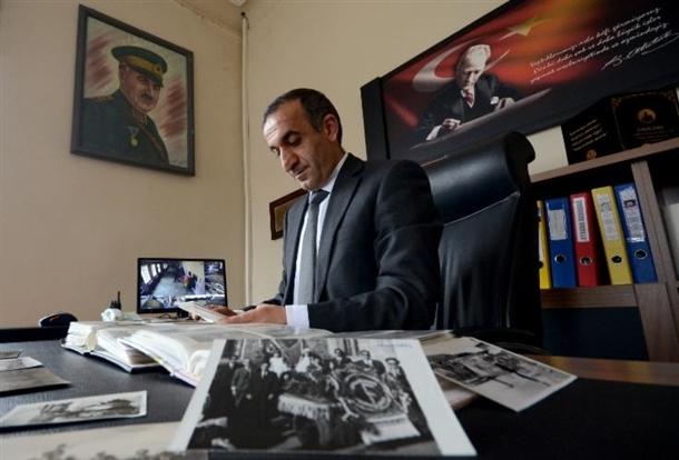 Cumhuriyetin izleri tarihi okulun arşivinde çıktı 2