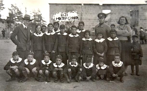 Cumhuriyetin izleri tarihi okulun arşivinde çıktı 7