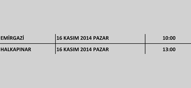 Ak Parti Konya'nın kongreleri başlıyor 12