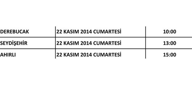 Ak Parti Konya'nın kongreleri başlıyor 14