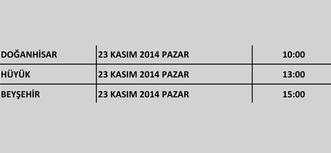 Ak Parti Konya'nın kongreleri başlıyor 16