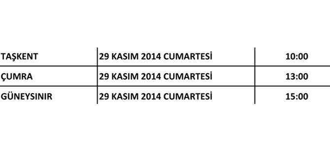 Ak Parti Konya'nın kongreleri başlıyor 18