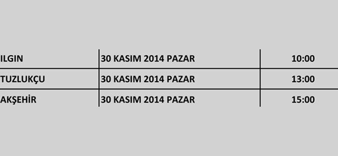Ak Parti Konya'nın kongreleri başlıyor 20