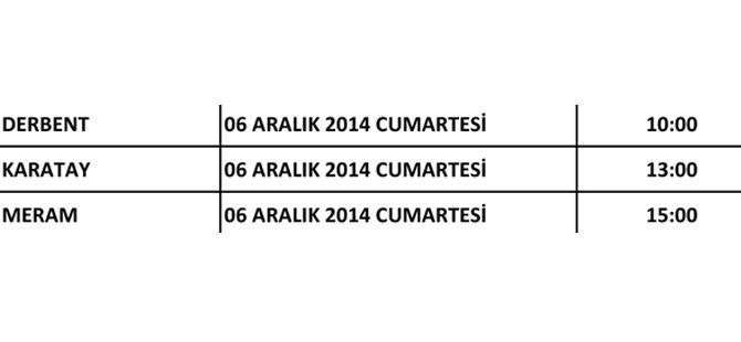 Ak Parti Konya'nın kongreleri başlıyor 22