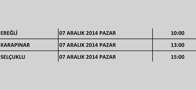 Ak Parti Konya'nın kongreleri başlıyor 24