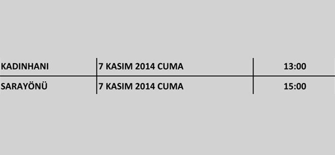 Ak Parti Konya'nın kongreleri başlıyor 4